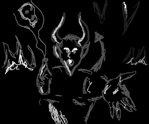 In the spirit world Demon sells Soul jars