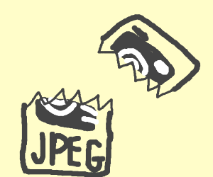 a broken jpeg icon