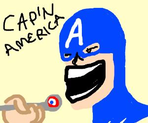 Captain America is Captain Crunch.