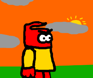 Angry Iron Man