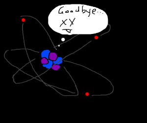 Lonely death of the last atom.