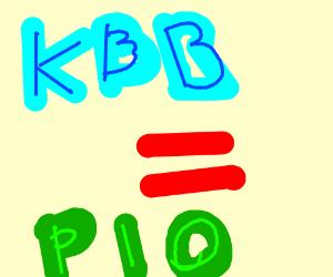 KBB this PIO