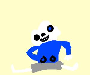 Sans the skeleton on meth