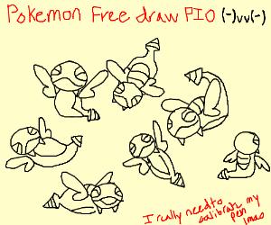 Pokemon Free Draw PIO!