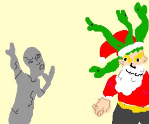 Medusa Santa Claus