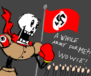 Papyrus is Hitler.