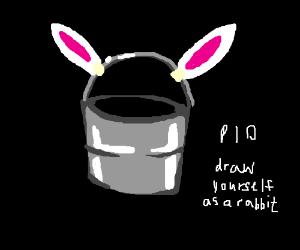 PIO Draw you as a rabbit