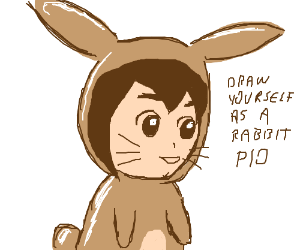 Draw Yourself as a Rabbit PIO
