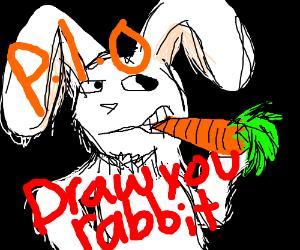 Draw your rabbit PIO
