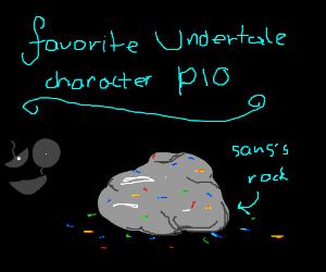 Favorite Undertale Character PIO