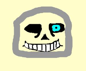Sans' pet rock