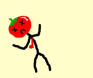 Dead Tomato Man