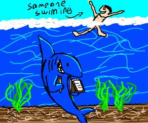 Strategic shark attack