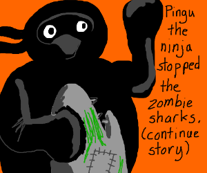 But Pingu saved us! (Cont story)