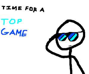 Stickman aspires to be in top game