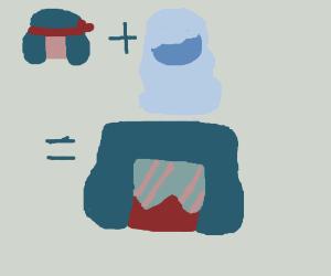 Ruby & Sapphire(SU) Make Garnet <3