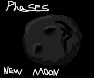 new moon (moon phase)