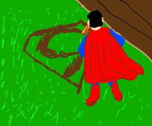 Superman makes crop circles now.