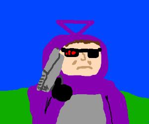 tinky winky is the terminator
