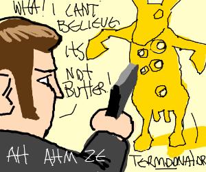 Local Man Shoots Butter