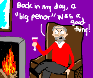 Old Drawceptioner remembering his youth