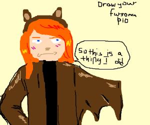 Draw your fursona PIO.