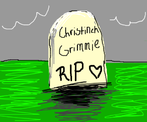 The grave of Christinch Grimmie