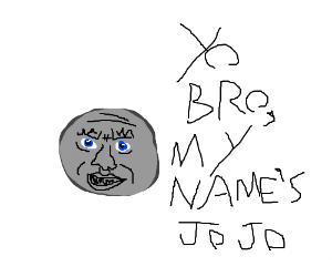 Draw a JOJO