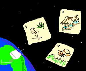 Bad Drawception Panels are Ejected into Space!