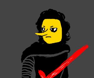 Kylo Ren is actually just emo Lemongrab