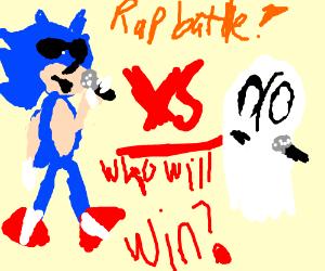 Mario v s Sonic - Drawception
