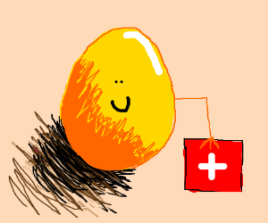 The golden egg wants you to get better.