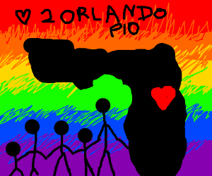 much love to Orlando, PIO