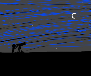 Star Gazing with a telescope