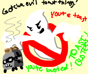 Ghostbuster's ghost capturing toaster thingy