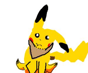 Bearded pikachu ;)