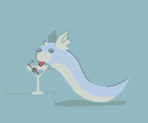 Dratini and his Martini