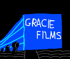 "Gracie Films Logo (the cinema ""Shh"" one)"
