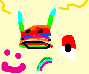 Rainbow pichachu