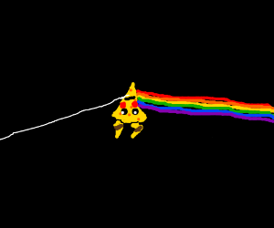 Cheesewedge Picachu is Dark Side of Moon Prism