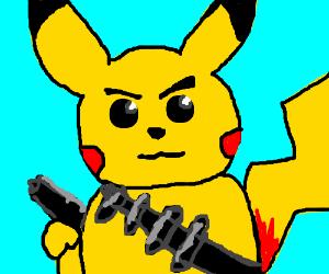 Law-breaking Pikachu