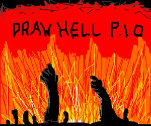 Draw hell PIO