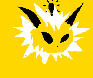 Jolteon has an idea