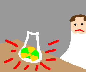Nuclear experimentation gone wrong