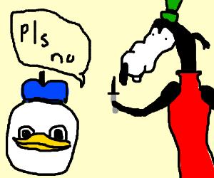 Dolanduck Cries Blood Politely Asks For Gooby Drawception