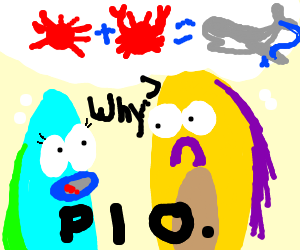 Any idea why Mr Krabs' daughter = whale? PIO!! - Drawception