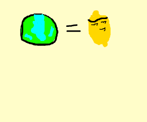 earth =sexualy confused,lemon w/ unibrow=sexy?