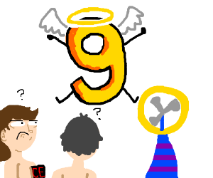 Nine is the God of all Frisky Fans.