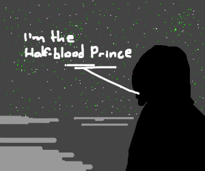 """I am the Half-Blood Prince."""