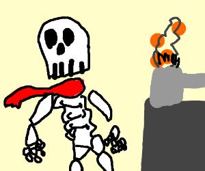 Papyrus Is Cooking NYEH HEH HEH!!